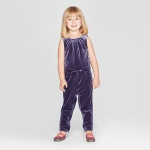 🔥FINAL🔥Genuine Kids Velvet Pant Romper
